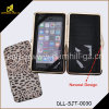 New Fashion Metal Frame Leopard Mobile Phone Case with Credit Card Holders