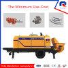 Pully Manufacture Hbt50.10.75RS Diesel Portable Concrete Pump