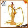 Resin Diamond Hookah Cigarette Shisha Water Pipe Glass Vase