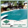 Green & Black Swimming Pool Safety Cover