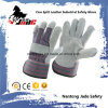 Grey Cowhide Split Leather Industrial Safety Work Glove