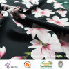Printed Peach Cdc (Creape De Chine) Fabric for Dress or Clothes