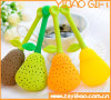 Pear Design Tea Infuser/Strainer for FDA Food Grade Silicone Custom Available