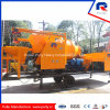 300m Pumping Distance in Horizontal Truck Mounted Concrete Mixer Pump
