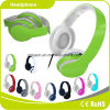 Green Colorful Customized Logo Perfect Sound Effect Music Headphone