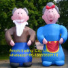 Inflatable Old Man and Woman Model on Sale