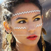 Face Jewel Headpiece Sticker Crystal Sticker for Party (S027)