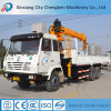 Factory Price 12 Ton Fixed Boom Crane Mounted on Truck