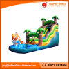 Fashionable Inflatable Jungle River Water Slide with Pool (T11-101)