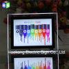 A1 Ultra Thin LED Edge Lit Crystal Photo Frame Illuminate Decorative Signs