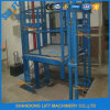 1000kg Vertical Guide Rail Hydraulic Cargo Lift Ce Proved