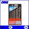 8PCS HSS 4241 Roll & Polished Metal Drill Bit Set, 3-10mm