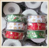 Cheap 100% Polyester Christmas Packing Gift Ribbon