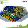 Free Jumping Kid Big Continuous Indoor Trampoline Bed Trampoline Park