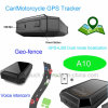 Car/Vehicle/Motorcycle GPS Tracker with GPS/Lbs Dual Mode Location A10