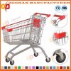 Top Quality European Style Zinc Supermarket Shopping Cart Trolley (Zht133)