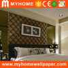 Beautiful Velvet Wall Paper Flocked Wallpaper for Home Decoration