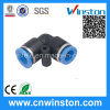 High Quality Quick Connectorplastic Pneumatic Fittings with CE