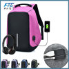 Canvas Backpack Anti Theft Bag with USB Charging Port