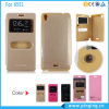 Window Open Leather Case for Infinix X551/Note 2/Tecno Y3
