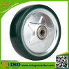 Clear Polyurethane on Steel Rim Caster Wheel