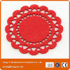 Beautiful Laser Cutting Nonwoven Fabric Coasters