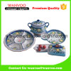 Casual Oriental Style Ceramic Dinnerware Set