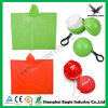 Colorful Eco-Friendly Poncho Plastic Ball with Keychain