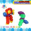Children Plastic Desktop Toy Changeable Caterpillar Building Blocks