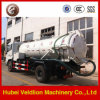 Road 8m3 Suction Truck with Cleaning Function