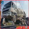 on-Site Encasing Japan-Used Isuzu Concrete Mixer Truck Shipping by Flat-Rack-Container