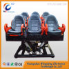 6dof Hydraulic 6 Seats System 7D Cinema