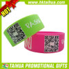 Custom Printed Qr Code Wristbnad for Gift (TH-band103)