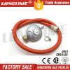 Thread Type LPG Gas Pressure Regulator with Gas Hose