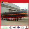 3 Axles 50000lt Heat Preservation Asphalt / Bitumen Tanker