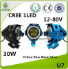 Waterproof U7 30W LED Laser Light for Motorcycle