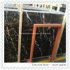 Black and Golden Marble Slabs for Flooring Tile
