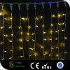 Christmas Decorative Warmwhite PVC LED Curtain Lights