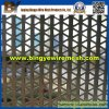 Triangle Perforated Metal Mesh Used in Cladding