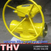 Worm Gear Operated Welded End Lubricated Plug Valve