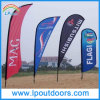 Outdoor Feather Teardrop Advertising Flag