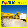 Full Automatic 25m3/H Mobile Concrete Batching Plant Yhzs25