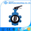 Ductile Iron Worm Gear Wafer 18 Inch Butterfly Valve