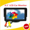 High Quality 4.3 Inch TFT LCD Car Monitor Car Rearview Monitor for Security Backup Parking