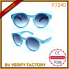 F7240 Lifestyle Classic Sunglass with Blue Transparent Frame