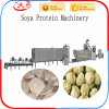 Tissue Protein Food Processing Line Soya Chunks Making Machines