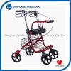 Standard Steel Walker Rollator with Basket