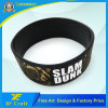 Manufacturer Custom Fashion Debossed Silicon Silicone Rubber Bracelet for Promotional Gift (XF-WB15)
