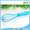 8 Inch Food Grade Blue Color Silicone Egg Whisk