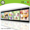 Slim Aluminum Frame Menu Light Box for Advertising